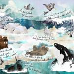 Polar Scene Text